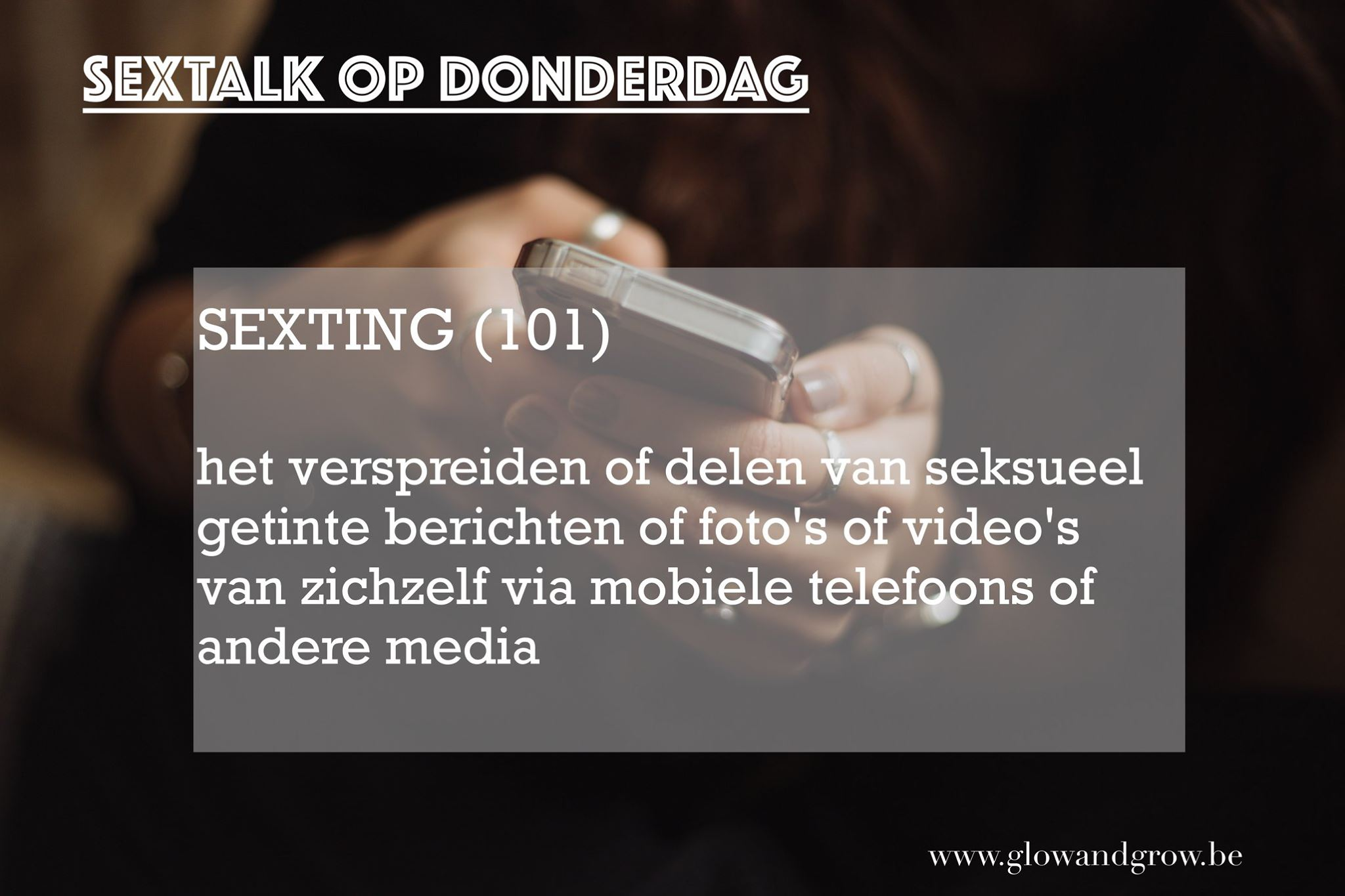 Read more about the article SEXTING 101